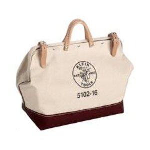 "Klein 5102-12 12"" (305 mm) Canvas Tool Bag"