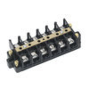 Ideal 89-505 Terminal Strip,Ideal,CSA,UL Listed,Wire SZ: 22 - 6 AWG,Spacing: 0.625 IN,60 AMP