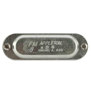 "Appleton K75 Conduit Body Cover, 3/4"", Form 35, Steel"