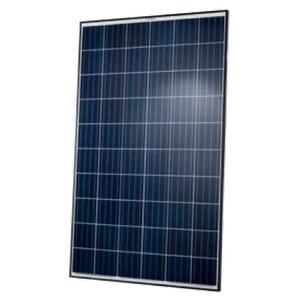 Q CELLS Q.PLUS-BFR-G4.1-280 Solar Module, Polycrystalline, 280W, 60 Cells, Black Frame