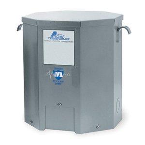 Acme T279745S Transformer, 7.5KVA, 1P, 120/208/240/277V, Isolation