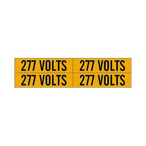 Brady 44212 Conduit & Voltage Marker