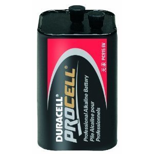 Duracell PC9150001 Battery, 6V, PC915, Alkaline, Lantern *** Discontinued ***