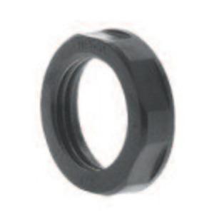 """Heyco 8465 Nylon Locknut, 3/4"""", Black"""