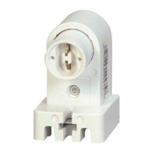 Eaton Arrow Hart 2501W-BOX Lampholder FL Dbl Contact Plunger WH 4494758