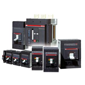 ABB T4S250TW Breaker, Tmax, 250A, 600VAC, 3P, Fixed