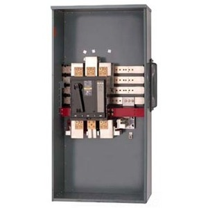 Square D EZM31000CB Meter Pak, Main Breaker Unit, 1000A, 208Y/120, 120/240VAC, 3P, 65kAIC