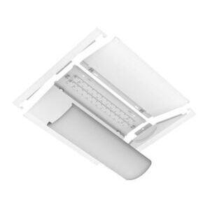 Industrial Lighting Products BIF24-37WLED-UNIV-40 LED Retrofit Kit, Recessed, 2x4, 36W, 4752L, 4000K, 120-277V
