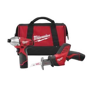 Milwaukee 2491-22 M12 Cordless Tool Kit