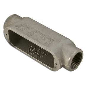 "Appleton C39 Conduit Body, Type: C, Size: 1"", Form 9, Aluminum"