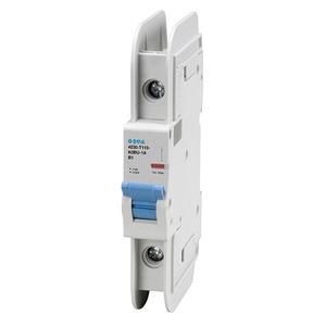 E-T-A Circuit Breakers 4230-T110-K0BU-25A Breaker, Din Rail Mount, 25A, 1P, 120VAC, 60VDC