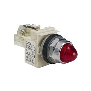 9001KT38LRR9 PILOT LIGHT 120VAC 30MM TYP
