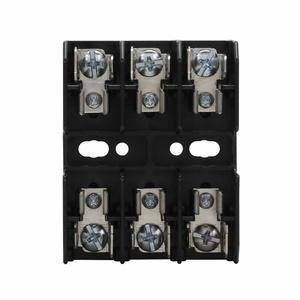 Eaton/Bussmann Series BG3033SQ Fuse Block, 25-30A, 3P, 480VAC, Screw Terminal, Quick Connect