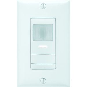 Sensor Switch WSXPDTGY Wall Switch Sensor w/ Convertible Neutral / No Neutral Wiring, Dual Technology