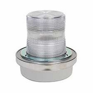 Edwards 50C-N5-40WH Flashing Halogen Beacon, Clear