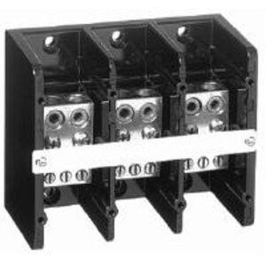 Allen-Bradley 1492-PD3C263 Distribution Block, 350A, 600V AC/DC, 3P, Copper, 2 In/6 Out