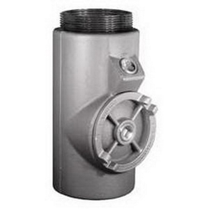 "Appleton EYS106 Sealing Fitting, Vertical/Horizontal, 4"", Explosionproof, Malleable"