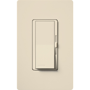 Lutron DVWCL-153PH-LA Diva Duo Dimmer, 600W, 3-Way, Light Almond