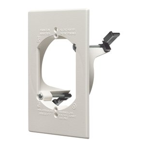 Arlington LV1RP Mounting Bracket, 1-Gang, Low Voltage, Non-Metallic