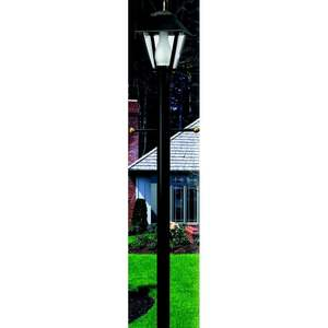 Wave Lighting 295-320NCA Post, Landscape, 7', Black