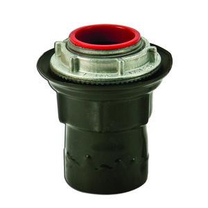 "Plasti-Bond PRST4 Conduit Hub, Size: 1-1/4"", Material: PVC Coated Steel"