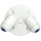 Hubbell-Dual-Lite EVODW Remote, Double Head, White Finish