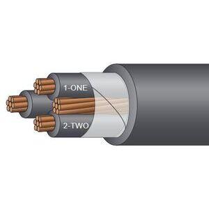 Service Wire TCXH500/3G Tray Cable, 500/3, XHHW-2 Copper, 600V