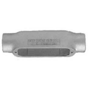 "Appleton C125-M Conduit Body, Type: C , Size: 1-1/4"", Form 35, Malleable Iron"