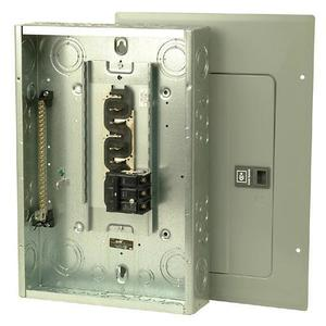 Eaton 3BR1224B100 Load Center, Main Breaker, 100A, 120/208/240VAC, 3P, 12/24, NEMA 1