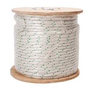 "Greenlee 35284 Rope, Nylon/Polyester, 9/16"" Size, 100' Length"
