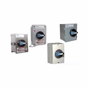 Eaton ER53030UW Disconnect Switch, AC, 30A, 600VAC, Switch, NEMA 4X, Stainless Steel