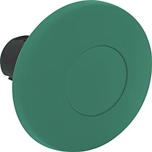 Allen-Bradley 800FP-MM63 Push Button, 60mm Mushroom Head, Green, Momentary, Plastic