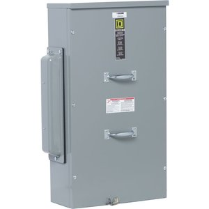 Square D EZM3600TB Meter Pak, Terminal Box, 600A, 800A Bus, 3PH In, 120/240VAC, OH/UG