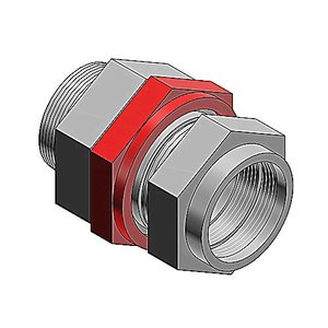 "Thomas & Betts STX050-464 Star Teck XP MC Cable Connector, Size: 1/2"", Explosionproof, Aluminum"
