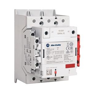 Allen-Bradley 100S-E146KJ12CL Contactor, Safety, 146A, 24-60VDC Coil, 1NO, 2NC Auxiliary