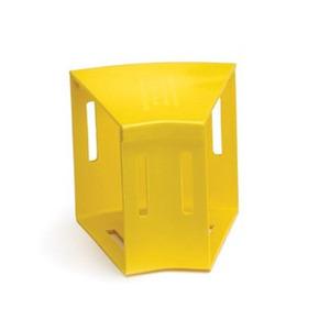 S4HEL-3DC YL ELBOW HORIZ 4X4 30D W/CVR