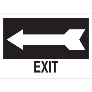 22454 DIRECTIONAL & EXIT SIGN