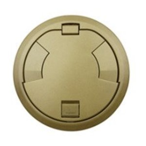 "Wiremold 8CTC2BZ Surface Style Cover Assembly, Diameter: 8"", Bronze"