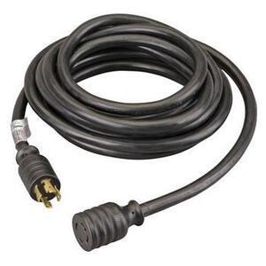 Reliance Controls PC3020 Power Cord, 30A, 120/240VAC, NEMA L14-30, 20ft. Black