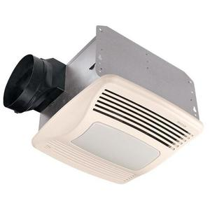 Broan QTXE110SFLT 110 CFM Humidity Sensing Fan/Light
