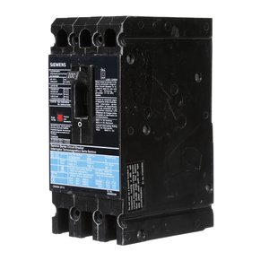 Siemens ED63B100L Breaker Ed 3p 100a 600v 18ka Lugs