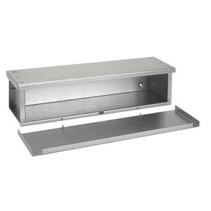 Hoffman F101060RTGV BASIC GALVIZED 3R TROUGH