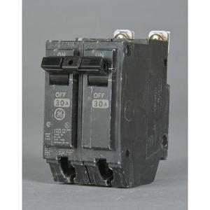 GE Industrial THHQB2170 Breaker, 70A, 120/240VAC, 2P, Bolt On, 22kAIC