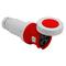 Hubbell-Bryant 460C7W Ps, Iec, Conn, 3p4w, 60a 3p 480v, W/t