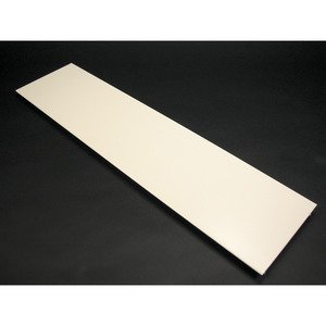 """Wiremold V4000C Raceway Cover, 4000 Series, Steel, Ivory, 4-3/4"""" x 5'"""