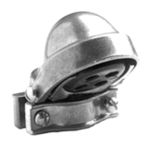 "Bridgeport Fittings 1253 Service Entrance Cap, Type: Clamp-On, Size: 1"", Material: Aluminum"
