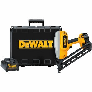 "DEWALT DC628K 18V XRP™ 1-1/4"" - 2-1/2"" Gauge Angled Finish Nailer Kit"