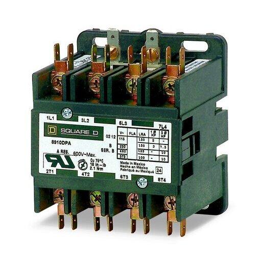 8910DPA34V02U1 CONTACTOR 600VAC 30AMP DP