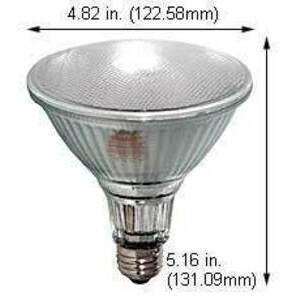 Damar 06735D Metal Halide Reflector Lamp, 100 Watt, Medium Base, PAR38