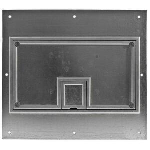 Hubbell-Wiring Kellems CFB11CVRALU REC FB COVER, 11-G,